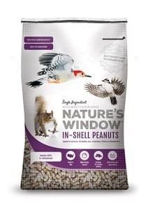 single ingredient wild bird food